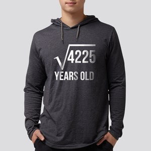 65 Years Old Square Root Long Sleeve T-Shirt